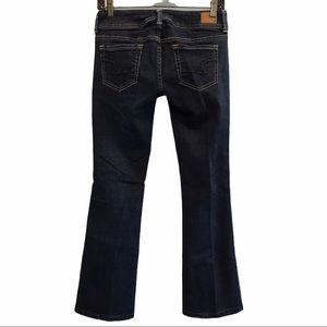 American Eagle women's blue denim jeans bootcut 4